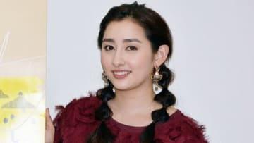名古屋のテレビ局「メ~テレ」で行われた深夜連続ドラマ「イジューは岐阜と」の会見に出席した早見あかりさん