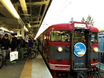 サイクリング×貸切り列車「サイクルツーリング&しなの鉄道サイクルトレイン」開催