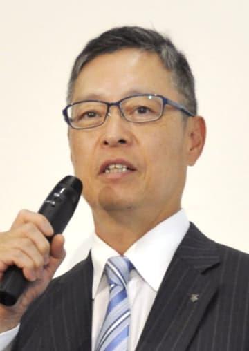 デサントの石本雅敏社長