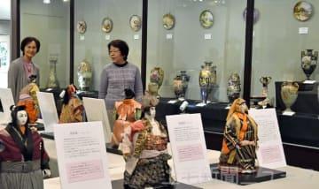 生糸貿易の偉人モデルに人形 高崎・日本絹の里で特別展
