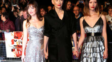 Dakota Johnson, Tilda Swinton & Mia Goth Stun At 'Suspiria' Premiere