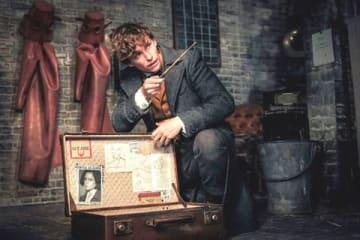 映画「ファンタスティック・ビーストと黒い魔法使いの誕生」のメインビジュアル (C)2018 Warner Bros. Ent. All Rights Reserved. Harry Potter and Fantastic Beasts Publishing Rights (C)J.K.R.