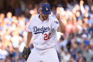圧巻の投球を披露したドジャースのクレイトン・カーショー【写真:Getty Images】