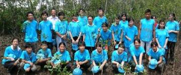 「ハチドリ隊」 今年もベトナムで植林 「希望」植え10年