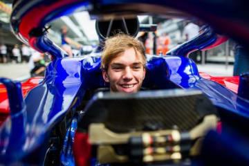 トロロッソ・ホンダF1のガスリー、初のアメリカGPへ「大きく進歩したマシンでテクニカルなサーキットを走るのが楽しみ」