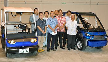 沖縄県内初、メーカー車製造 ものづくりネットワーク ヤマハが委託