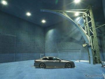 ヨコオがADAS・自動運転・5G向け車両用に新設した最新鋭の「 電波測定サイト 」