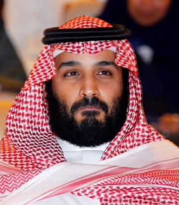 サウジアラビアのムハンマド・ビン・サルマン皇太子(ロイター=共同)