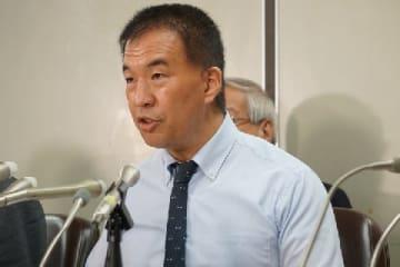 岡口基一裁判官(9月11日撮影)