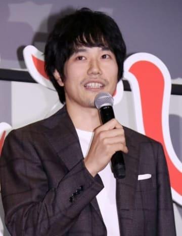 ドラマ「聖☆おにいさん」の特別上映会に登場した松山ケンイチさん
