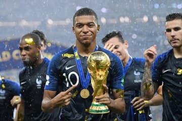 今夏、フランス代表をW杯優勝へ導いたムバッペ photo/Getty Images