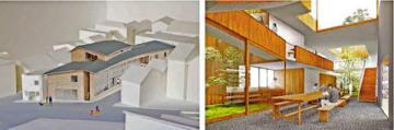 京都市左京区吉田に建設するインキュベーターの完成予想図