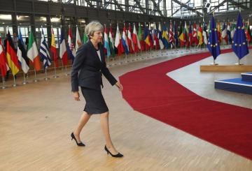 EU首脳会議 英国離脱の条件合意は不透明