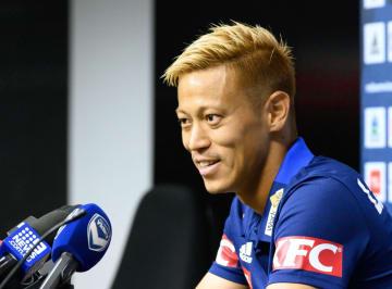 Football: Keisuke Honda