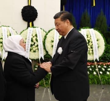 北京でイスマイル·アマト氏の告別式 習近平氏らが出席