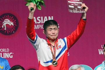 世界一を目指すかカン・クムスン(北朝鮮)