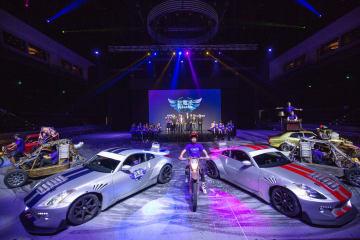 スタジオ・シティ・マカオで上演される新レジデントショー「エレクロン」のイメージ(写真:Melco Resorts & Entertainment Limited)