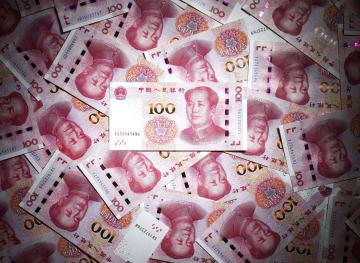 Chinese yuan bills