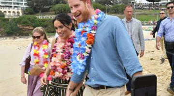 Prince Harry & Meghan Markle Visit Sydney's Bondi Beach To Meet OneWave Group