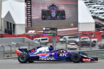 【タイム結果】F1第18戦アメリカGP フリー走行2回目