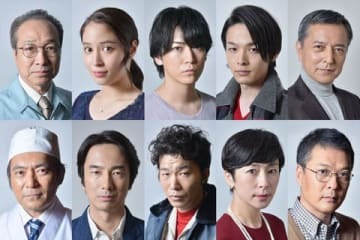 スペシャルドラマ「ドラマスペシャル『東野圭吾 手紙』」の出演者たち=テレビ東京提供