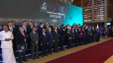 日本とEUともに手を携え 安倍首相歴訪 ASEM閉幕