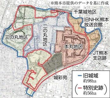 NHK跡に展示施設案 熊本市「構想」、城の価値など発信
