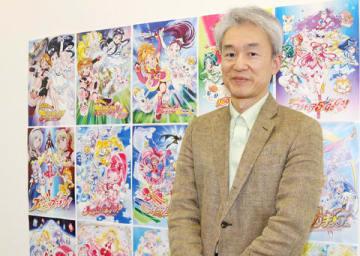 「プリキュア」シリーズ生みの親とも呼ばれる東映アニメーションの鷲尾天プロデューサー