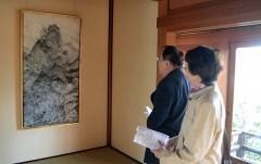 倉敷で三瀬夏之介さんの日本画展