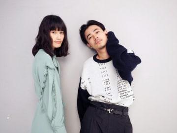 映画「ここは退屈迎えに来て」で共演した橋本愛さん(左)と成田凌さん