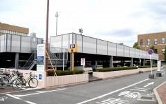 岡山大病院が立体駐車場建て替え