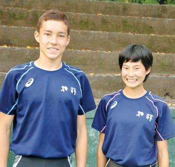 クレイ君(左)と高島さん