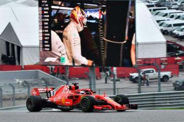 ベッテル「ウエットコンディションでは速さが足りない」:F1アメリカGP金曜