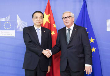 李克強総理、欧州委員長と会見 改革深化と開放拡大の決意強調
