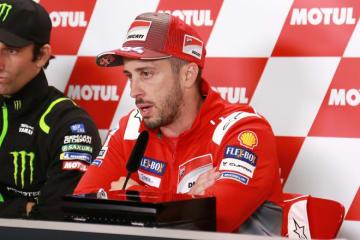 ドヴィツィオーゾ、マルケスは「1周目からトップ3に入って来るだろう」/MotoGP日本GP予選会見