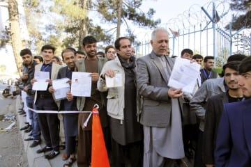 아프간, 하원 선거 투표 개시