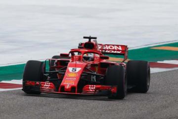 【タイム結果】F1アメリカGP FP3/ベッテルがトップ。トロロッソ・ホンダのガスリーは12番手