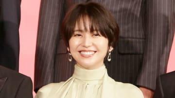 映画「キングダム」の製作報告会見に出席した長澤まさみさん