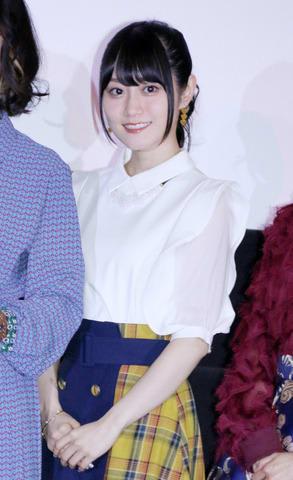 「映画HUGっと!プリキュア ふたりはプリキュア オールスターズメモリーズ」の完成披露イベントに登場した小倉唯さん