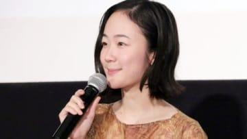 映画「日日是好日」の初日舞台あいさつに出席した黒木華さん