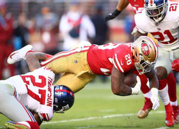 49ers beat Giants for first season win