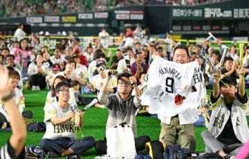 ホークス日本シリーズ進出 県内各地でファン歓喜 [福岡県]