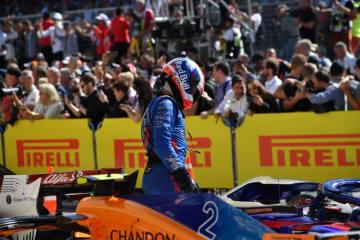 ガスリー「ダメージを抱えながら走行。速さを生かして戦えなかったことが残念」:トロロッソ・ホンダ F1アメリカGP日曜