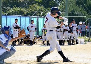 ベスト8決まる 福島県中学新人野球