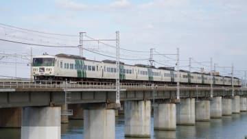 185系 電車 特急 踊り子 東海道本線 茅ヶ崎 平塚 駅弁 弁当