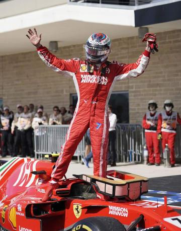 라이코넨, 5년 만에 F1 결승 승리