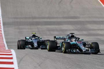 ボッタス「早くハミルトンの王座が確定してほしい」サポートが自身のレースに影響:F1アメリカGP日曜
