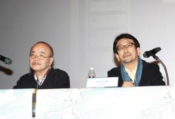 第20回プチョン国際アニメーション映画祭で故・今敏監督について語った丸山正雄氏、真木太郎氏