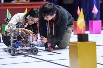 中国科学技術大学、ロボット大会開催