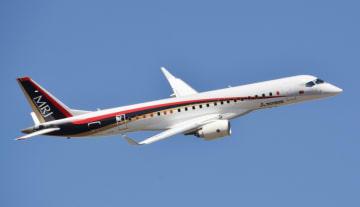 MRJ test flight